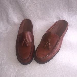 Bass weejuns penny loafer mules