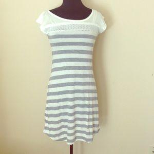 Three Bird Nest Other - 💕 Lace & Stripes PJs 💕Cap Sleeve Pajama Dress