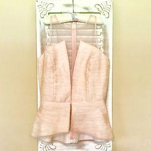Sachin + Babi Tops - Pleated silk-chiffon top