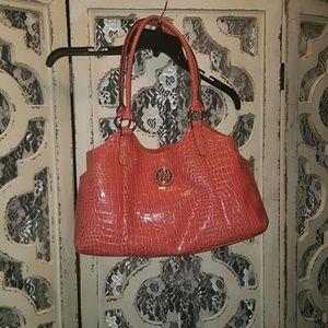 Handbags - Coral-Pink purse!
