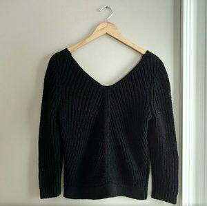 NWT Ann Taylor V-Back Sweater