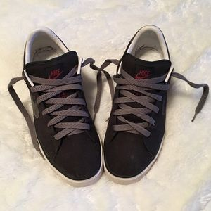 Nike Other - Men's Black & Grey Canvas Nike Sneakers