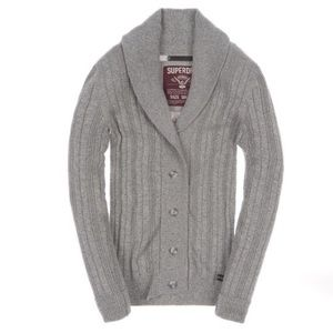Superdry Sweaters - *Superdry Parliament Lite Cardigan