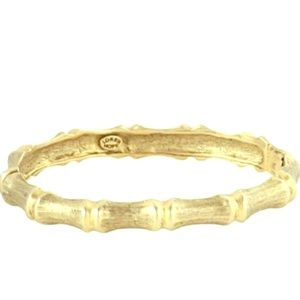 Gold bangle by Loren Hope. Beautiful