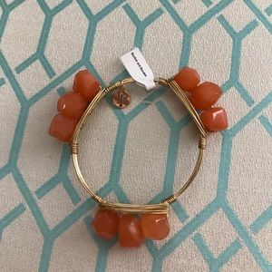 Bourbon and Bowties Jewelry - Bourbon and Bowties Orange Stone Bangle