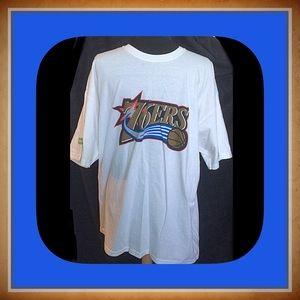 Gildan Other - Gildan Cotton 76ers T Shirt / Size XL