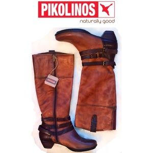 PIKOLINOS Shoes - NEW•PIKOLINOS 🇮🇹Coco Leather Brujas Boot[40]•