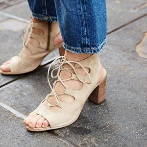 Steve Madden Shoes - Steve Madden NILUNDA Lace Up Heel