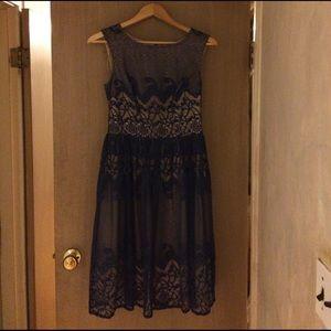 London Times Dresses & Skirts - Blue lace dress London times size for