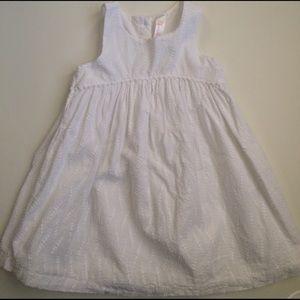 Cherokee 2T white dress