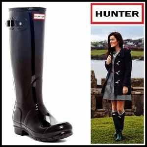 Hunter Boots Shoes - HUNTER ORIGINAL BOOTS Tall Glossy Haze Finish