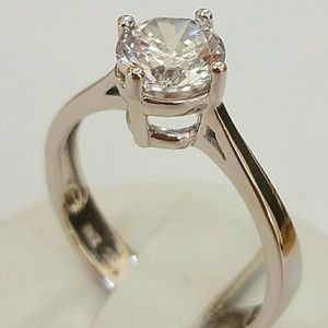 Jewelry - 1ct Solitaire Engagement ring size 5 6 7 8 9