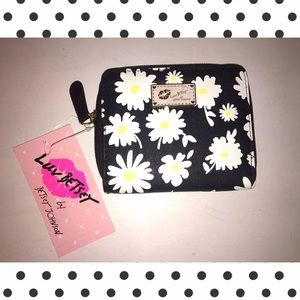 NWT Betsey Johnson Zip Around Wallet 