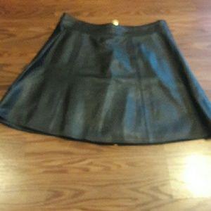 Dresses & Skirts - Saks Fifth Avenue Leather Skirt *** EUC ***
