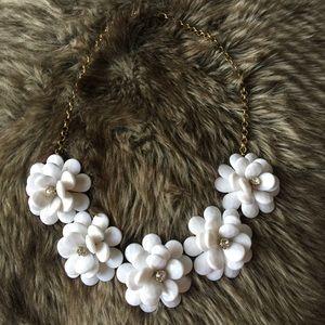 J. Crew Jewelry - J. Crew Chunky Flower Necklace