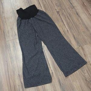 Pants - Motherhood XL black and white woven career pants