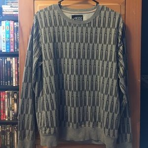 Hot Topic Sweaters - Bullet print pullover