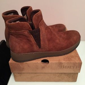 FINAL PRICE‼️ Born Zyba Leather Suede Boots