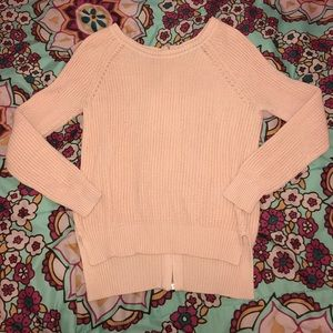 Timing Sweaters - Light Pink Sweater