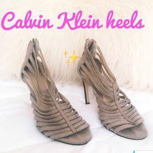 Calvin Klein strappy heels ✨