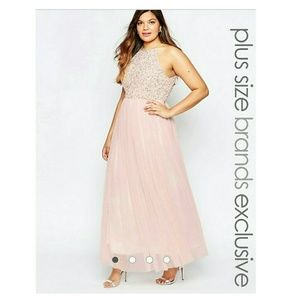Lovedrobe Dresses & Skirts - Lovedrobe Sequin Bridesmaid Maxi Dress ASOS
