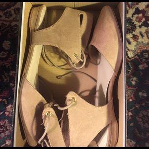 MIA Shoes - Lace up flats