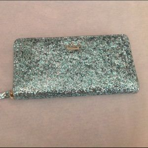 kate spade Handbags - Kate Spade Glitter Bug Lacey Wallet