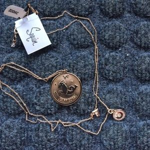 Jewelry - Caprocorn medallion necklace
