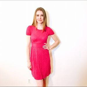 M by Missoni Dresses & Skirts - M MISSONI FUCHSIA PINK KNIT DRESS #388