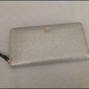 kate spade Handbags - Kate Spade Glitter Wallet