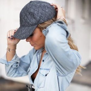 Madewell Accessories - 🎉HP: Madewell Quilted Wool Baseball Cap