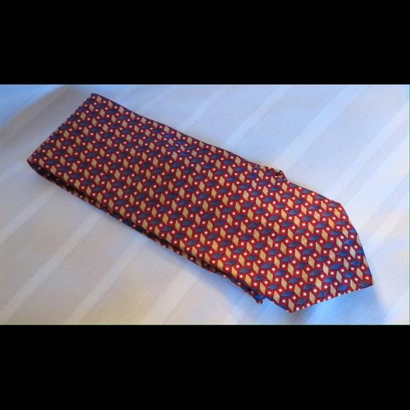 c14278d094 Ferrell Reed For Von Maur Silk Tie Made in USA