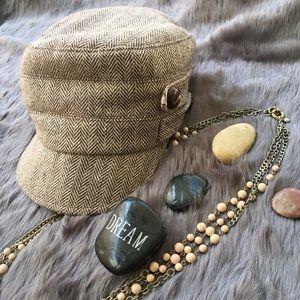 San Diego Hat Company Accessories - Herringbone Cadet Cap/Hat