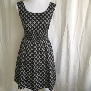 White House Black Market Dresses & Skirts - WHBM Lined Cotton Dress with Pockets