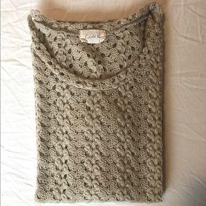 Crochet long sleeve