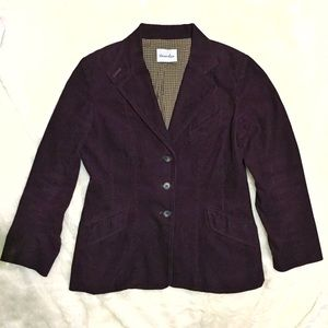 Steven Alan Jackets & Blazers - Steven Alan Corduroy Plum Purple Blazer Jacket