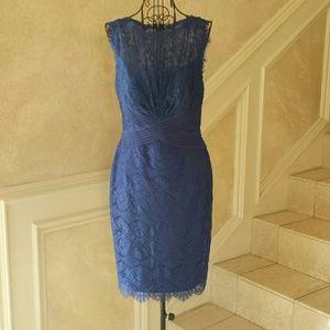 Tadashi Shoji Dresses & Skirts - Tadashi Shoji Blue Lace Cocktail Dress