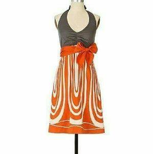 Anthropologie floreat pele glow dress sz 0