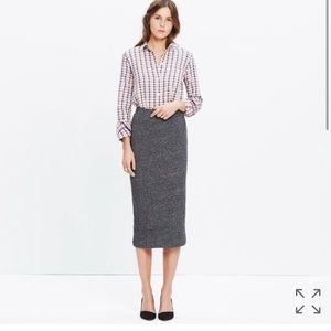 Madewell Dresses & Skirts - Madewell Marled Midi Skirt