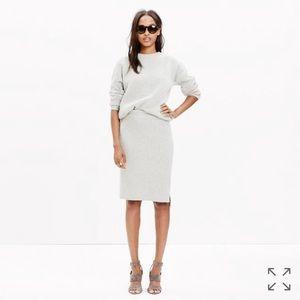 Madewell Dresses & Skirts - Madewell Moderne Sweater Skirt