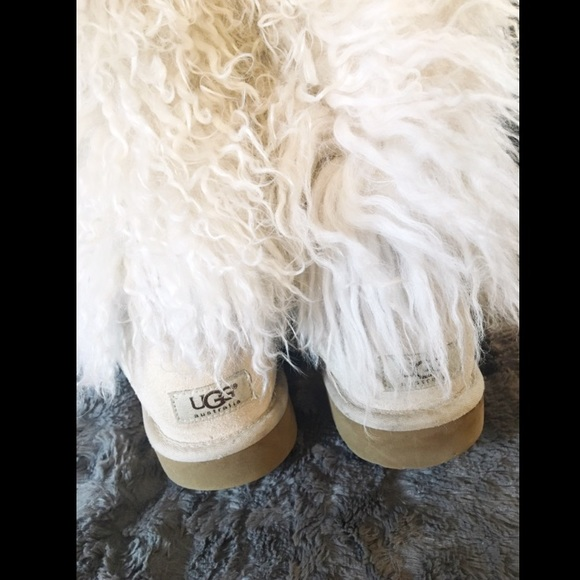 b091bd41007 Ugg Mongolian Fur Boots Size 9 - cheap watches mgc-gas.com