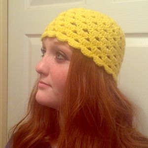 Accessories - Fitted beanie cap - sunshine yellow