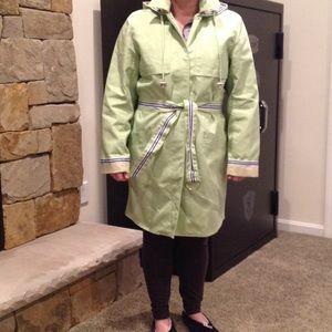 Dennis Basso Jackets & Blazers - Ladies Dennis Basso Rain Coat