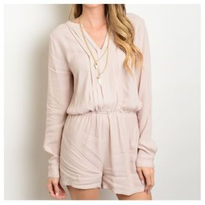 Pants - ✨Charming Taupe Romper✨