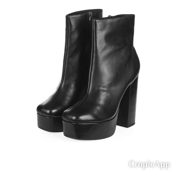 Topshop Hotstuff Platform Boots