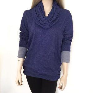 Lucy Sweaters - Lucy Cowl Neck Long Sleeve Sweatshirt 💙