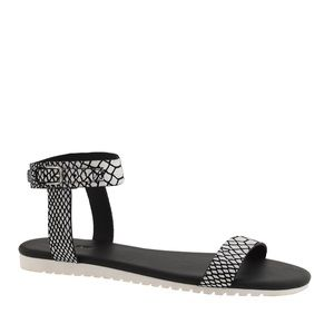 J. Crew Shoes - J Crew Black and White Sandals