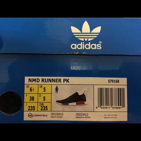Adidas Nmd Tamaño 6.5 RL4TMLo9ag