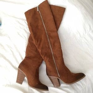 Shoe Dazzle Shoes | Over the Knee Boots - on Poshmark