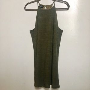 Zara Trafaluc Halter Dress